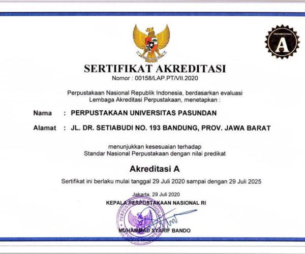 Akreditasi Perpustakaan Unpas