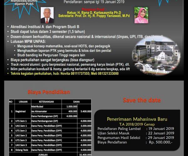 Informasi PMB 2018/2019